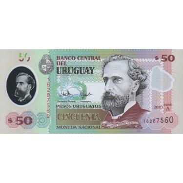 Uruguay 50 Pesos 2020 P-new