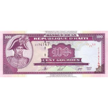 Haiti 100 Gourdes 2000 P-268