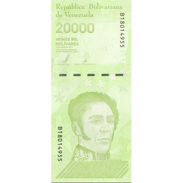Venezuela 20 000 Bolivares...