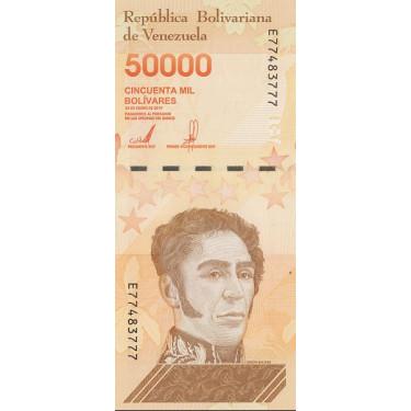 Venezuela 50 000 Bolivares...