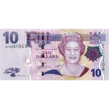 Fiji 10 Dollars ND 2011 P-111b