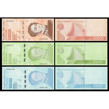 Venezuela Set 3 x new...