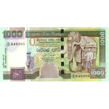 Sri Lanka 1000 Rupees 2006...
