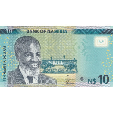 Namibia 10 Dollars 2015 P-16