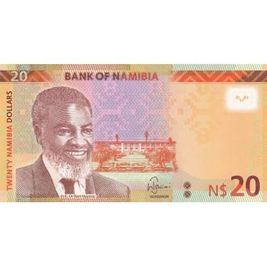 Namibia 20 Dollars 2018 P-17b