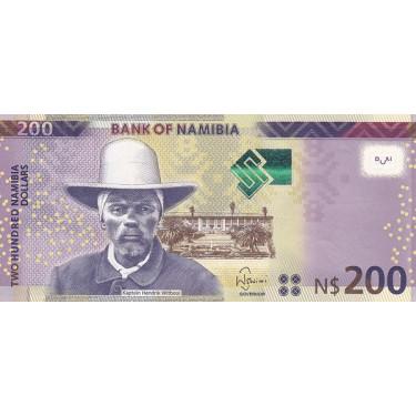 Namibia 200 Dollars 2018 P-15