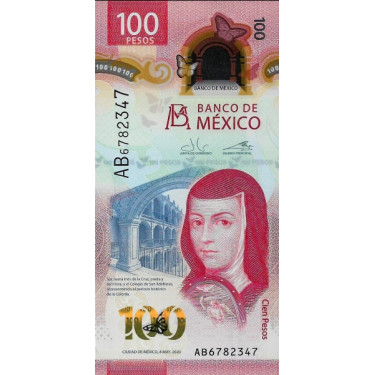 Mexico 100 Pesos 2020 P-new