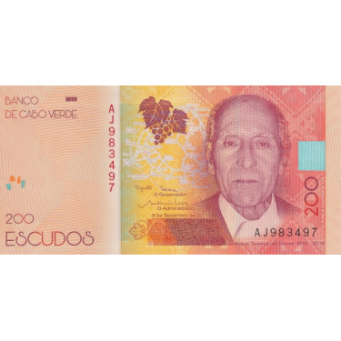 Cape Verde 200 Escudos 2019...