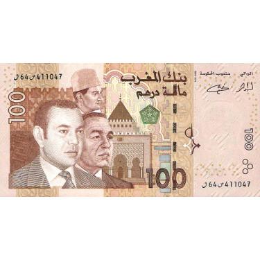 Morocco 100 Dirhams 2002 P-70
