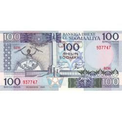 Somalien 100 Shilin 1989...