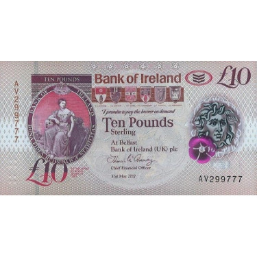 Northern Ireland 10 Pounds...