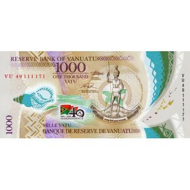 Vanuatu 1000 Vatu 2020 P-new
