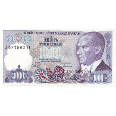 Turkiet 1000 Lira 1970 P-195