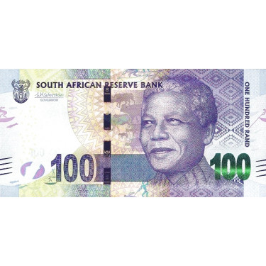 South Africa 100 Rand 2015...