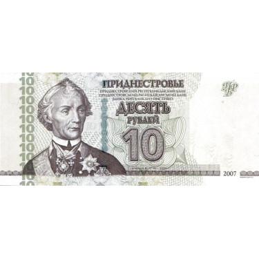 Transnistrien 10 Rubley...