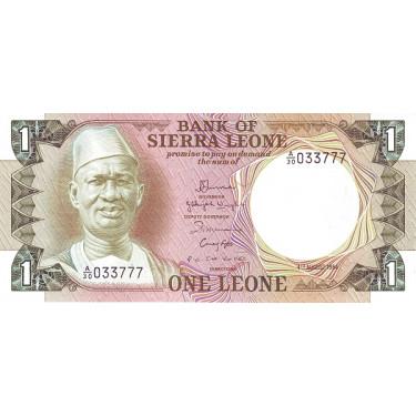 Sierra Leone 1 Leone 1984 P-5e