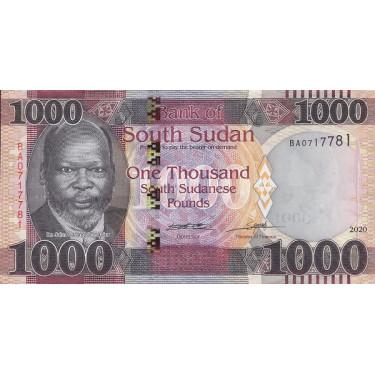 Sydsudan 1000 Pounds 2020...