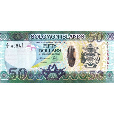 Solomon Islands 50 Dollars...