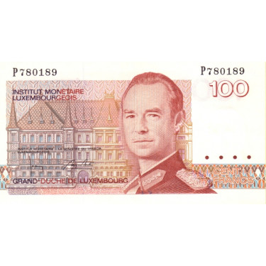 Luxembourg 100 Francs 1993...