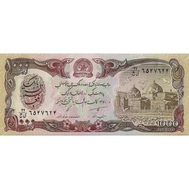 Afghanistan 1000 Afghanis...