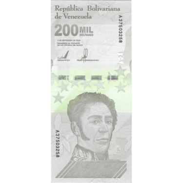 Venezuela 200 000 Bolivares...