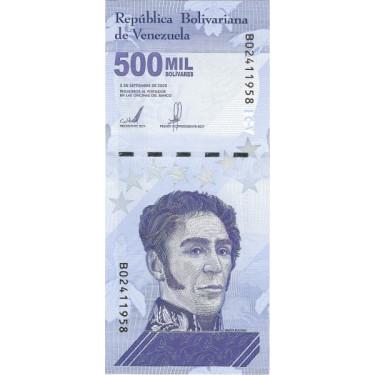 Venezuela 500 000 Bolivares...
