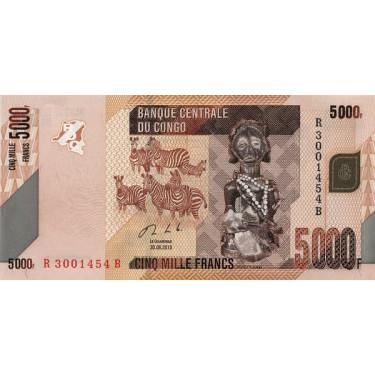 Congo 5000 Francs 2013 P-102b