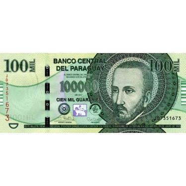 Paraguay 100 000 Guaranies...