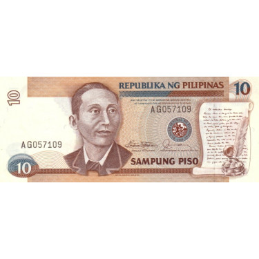 Filippinerna 10 Piso ND P-169a