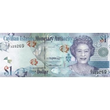 Cayman Islands 1 Dollar 2018