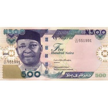 Nigeria 500 Naira 2020 P-30