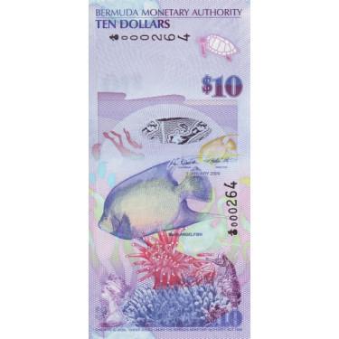 Bermuda 10 dollars 2009 P-59a1