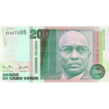 Cape Verde 200 Escudos 1989...