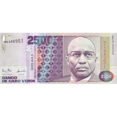 Cape Verde 2500 Escudos...