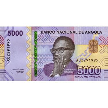 Angola 5000 Kwanzas 2020 P-new