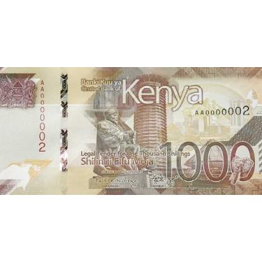 Kenya 1000 Shillings 2019 P-56