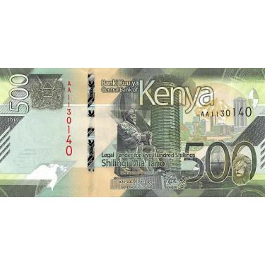 Kenya 500 Shillings 2019 P-55