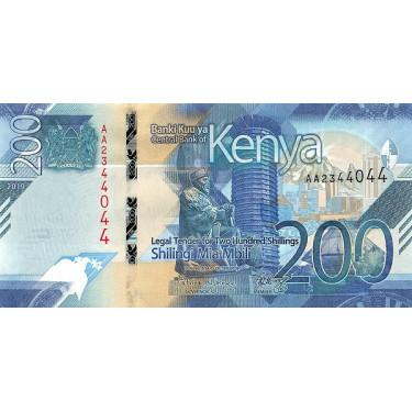Kenya 200 Shillings 2019 P-54