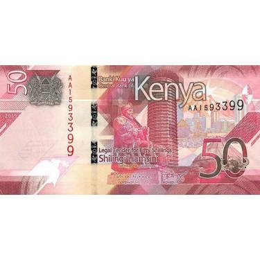 Kenya 50 Shillings 2019 P-52