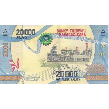 Madagascar 20 000 Ariary...