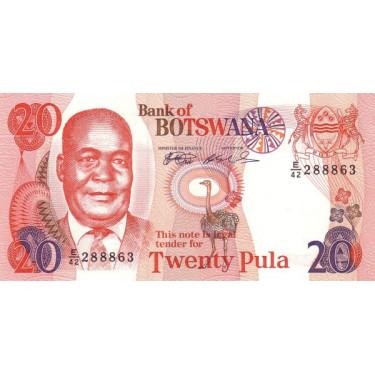Botswana 20 Pula 1999 P-21a