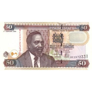 Kenya 50 Shillings 2004...