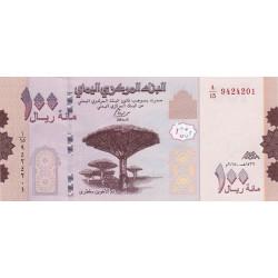 Yemen 100 Rials 2018 P-new