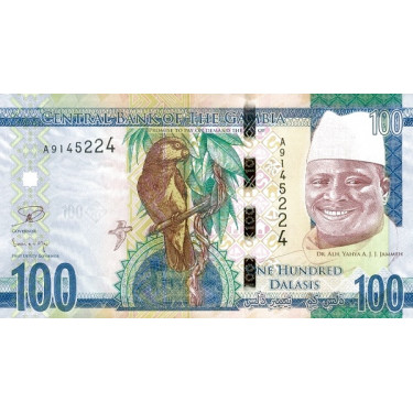 Gambia 100 Dalasis 2015...