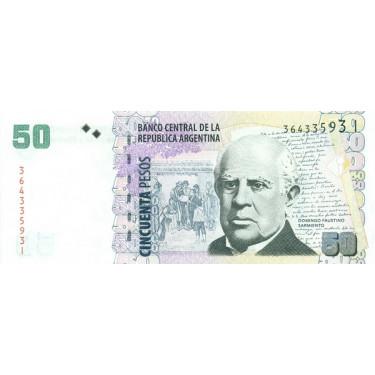 Argentina 50 Pesos 2013...