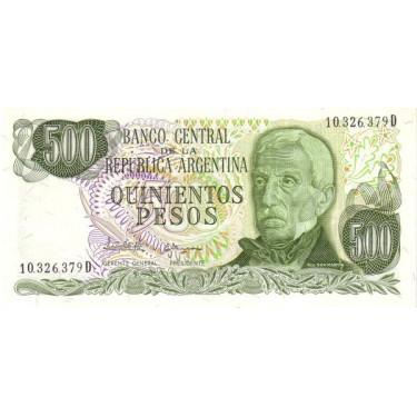 Argentina 500 Pesos 1977...
