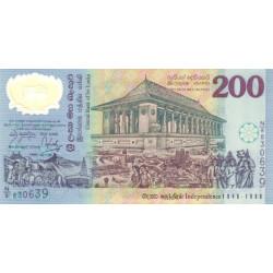 Sri Lanka 200 Rupees 1998...