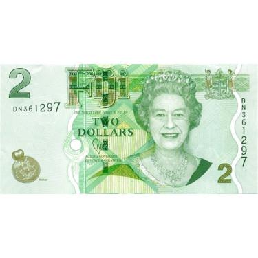 Fiji 2 Dollars 2012 P-109b