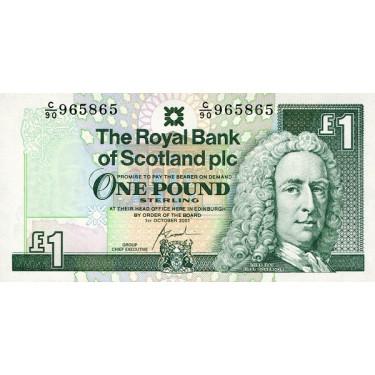 Scotland 1 Pound 2001 P-351e