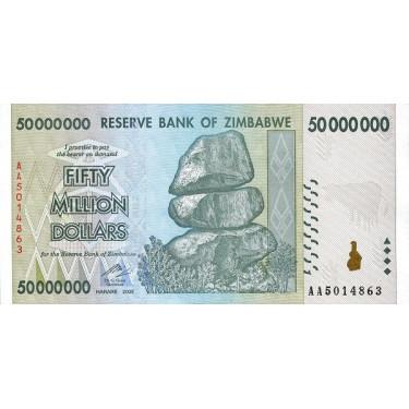 Zimbabwe 50 000 000 Dollars...